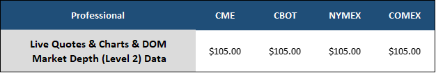 CME Market Data Professional 1