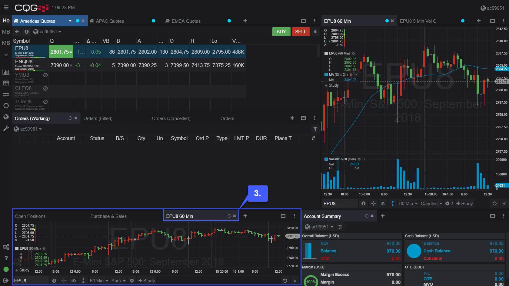 CQG Desktop Charts 3