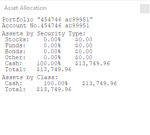 Investor RT Account Balance 4