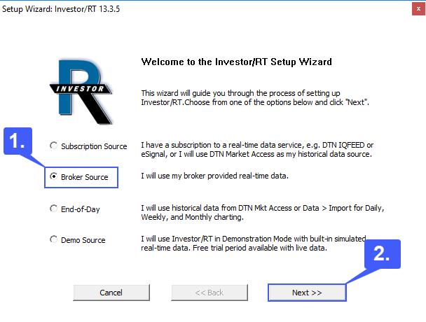 InvestorRT Live Data 1