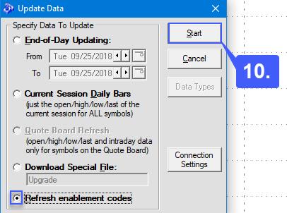 TradeNav Live data 10