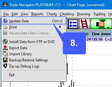 TradeNav Live data 8